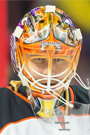 Ilya Bryzgalov Face Photo on Ice
