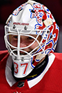 Antti Niemi Face Photo on Ice