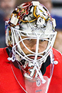 Eddie Lack Face Photo on Ice