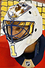 Roberto Luongo Face Photo on Ice