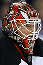 Cory Schneider Face Photo on Ice