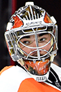 Michal Neuvirth Face Photo on Ice