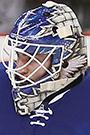 Jhonas Enroth Face Photo on Ice