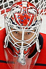 Ilya Samsonov Face Photo on Ice