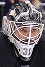 Peter Budaj Face Photo on Ice
