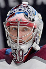 Pavel Francouz Face Photo on Ice