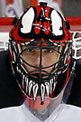 Scott Clemmensen Face Photo on Ice