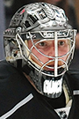 Jonathan Quick Face Photo on Ice