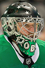 Anton Khudobin Face Photo on Ice