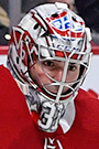 Carey Price Face Photo on Ice