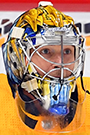 Pekka Rinne Face Photo on Ice