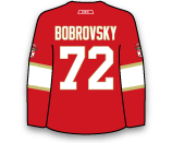 Sergei Bobrovsky's Jersey