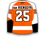 James van Riemsdyk's Jersey