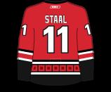Jordan Staal's Jersey