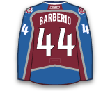 Mark Barberio's Jersey