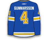 Carl Gunnarsson's Jersey