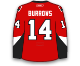 Alexandre Burrows's Jersey