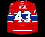 Jordan Weal's Jersey