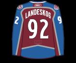 Gabriel Landeskog's Jersey