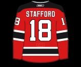 Drew Stafford's Jersey