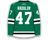 Alexander Radulov's Jersey