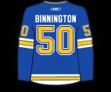 Jordan Binnington's Jersey