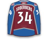 Carl Soderberg's Jersey