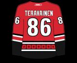 Teuvo Teravainen's Jersey