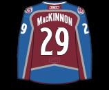 Nathan Mackinnon's Jersey