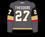 Shea Theodore's Jersey