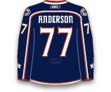 Josh Anderson's Jersey