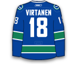 Jake Virtanen's Jersey