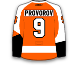 Ivan Provorov's Jersey