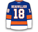 Anthony Beauvillier's Jersey