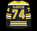 Jake DeBrusk's Jersey