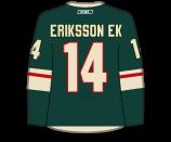 Joel Eriksson Ek's Jersey