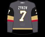 Valentin Zykov's Jersey