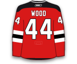 Miles Wood's Jersey