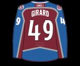 Samuel Girard's Jersey