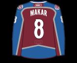 Cale Makar's Jersey