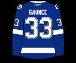 Cameron Gaunce's Jersey