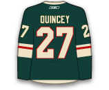Kyle Quincey's Jersey