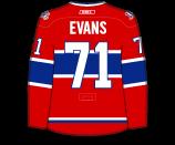 Jake Evans's Jersey