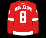 Justin Abdelkader's Jersey