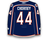 Taylor Chorney's Jersey