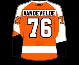 Chris VandeVelde's Jersey