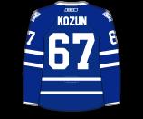 Brandon Kozun's Jersey
