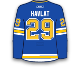 Martin Havlat's Jersey