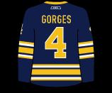 Josh Gorges's Jersey