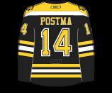 Paul Postma's Jersey
